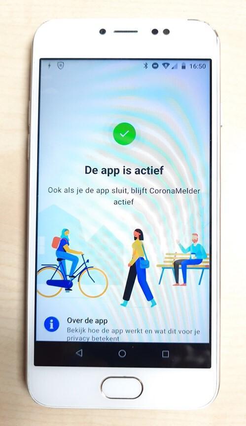 coronamelder; app; effectief; drenthe;